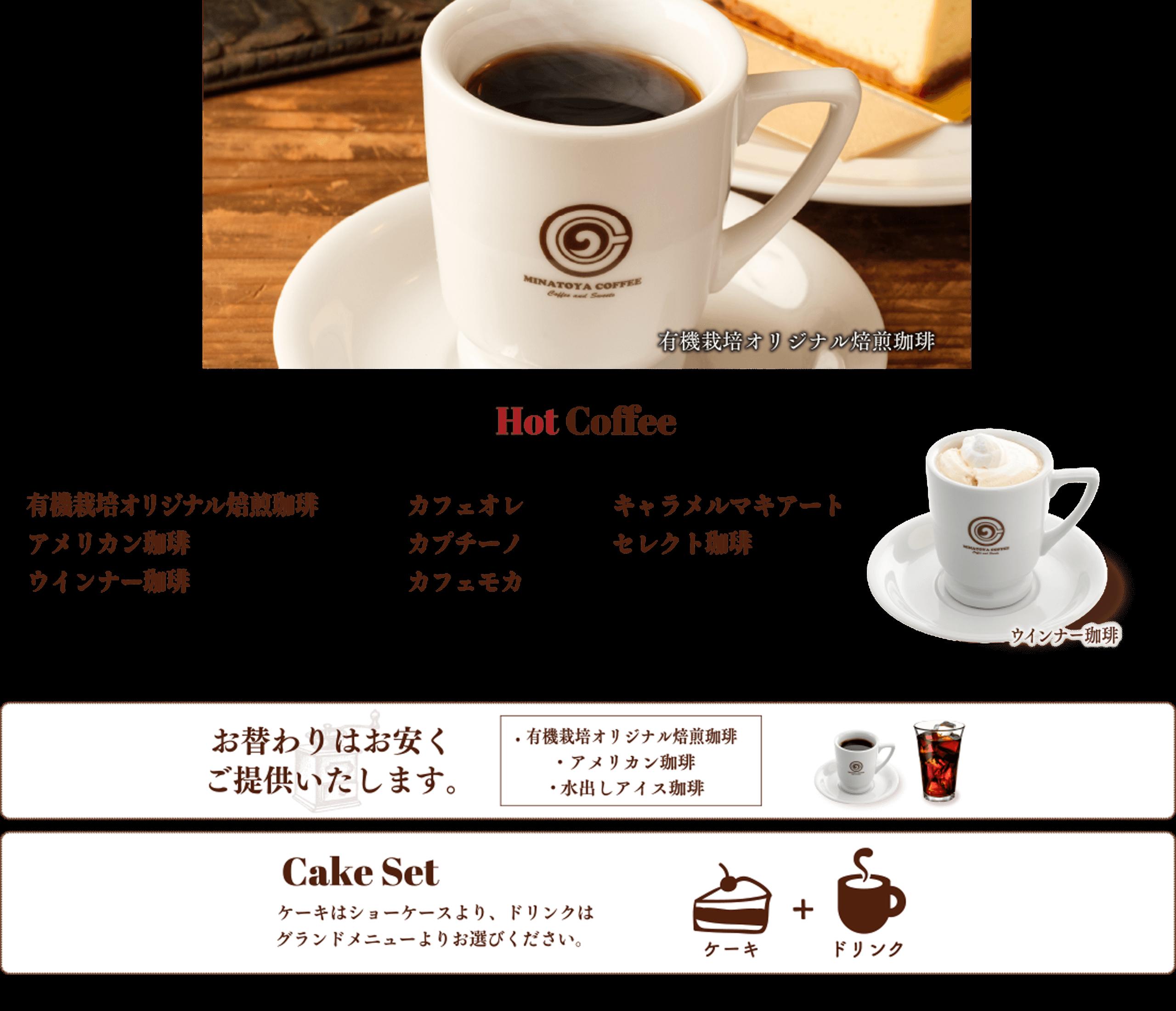 spホットコーヒー部分画像